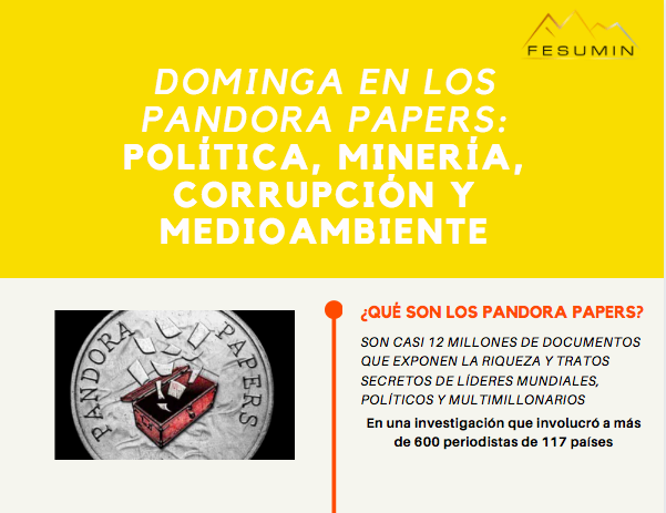 INFOGRAFÍA: Dominga en los Pandora Papers
