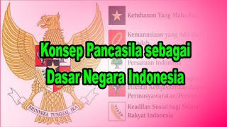 Konsep Pancasila sebagai Dasar Negara Indonesia