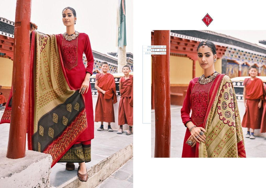 Tanishk Fashion Leh Pashmina Suits Catalog Lowest Price