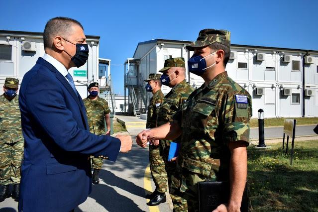 Στην Ελληνική Δύναμη Κοσσυφοπεδίου ο Στεφανής