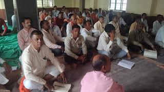 भारतीय किसान संघ जिला शाजापुर की बैठक रखी गई