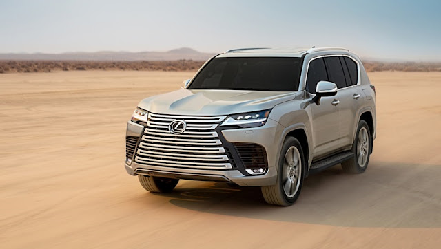 2022 Lexus LX600 debuts with F-Sport
