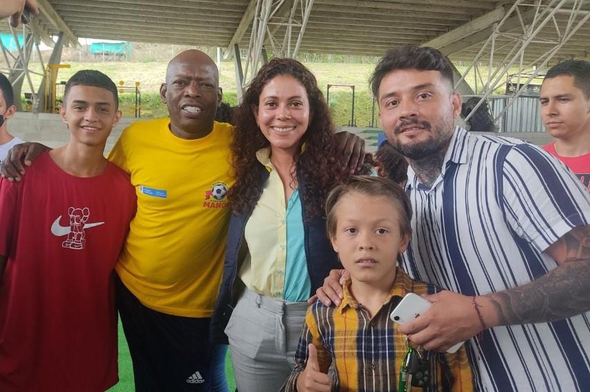 """La gira Nacional """"El balón está en nuestras manos"""" rodó por primera vez en Risaralda"""