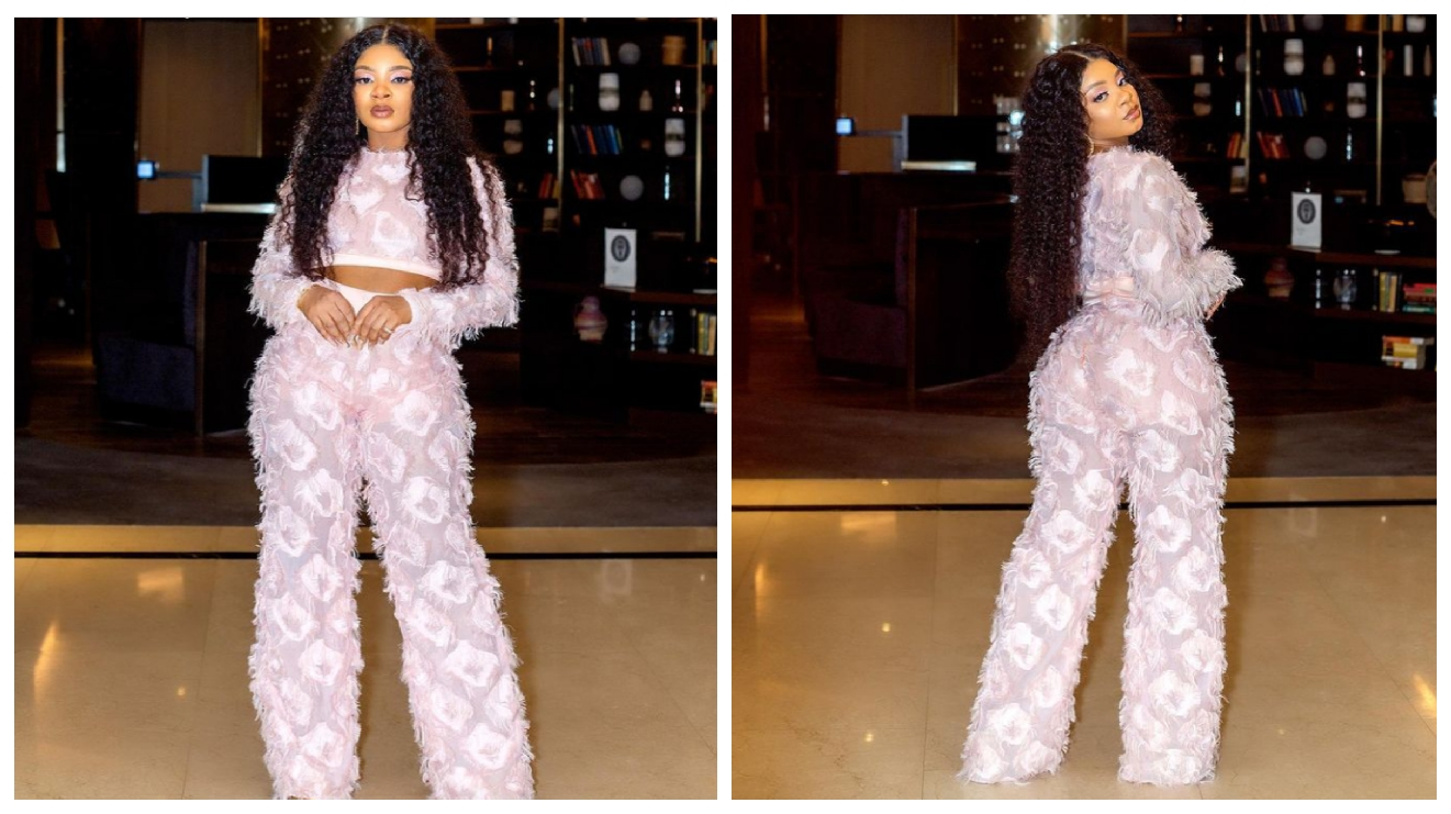 """BBNaija: Queen flaunts her beauty in adorable new photos, says """"the world is at my feet"""""""