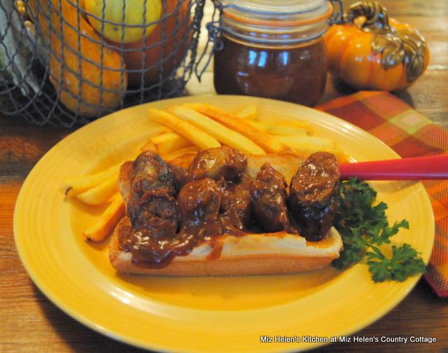Octoberfest: Currywurst at Miz Helen's Country Cottage