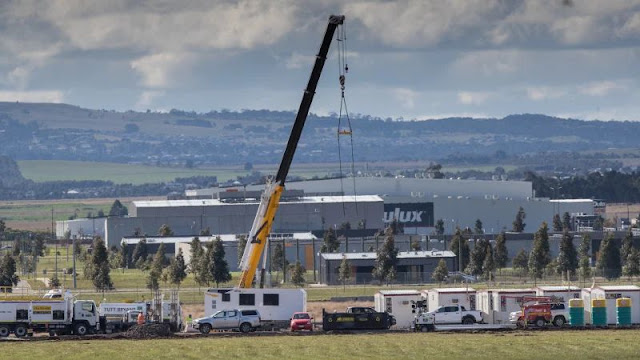 Australia: Campi di quarantena Covid in costruzione