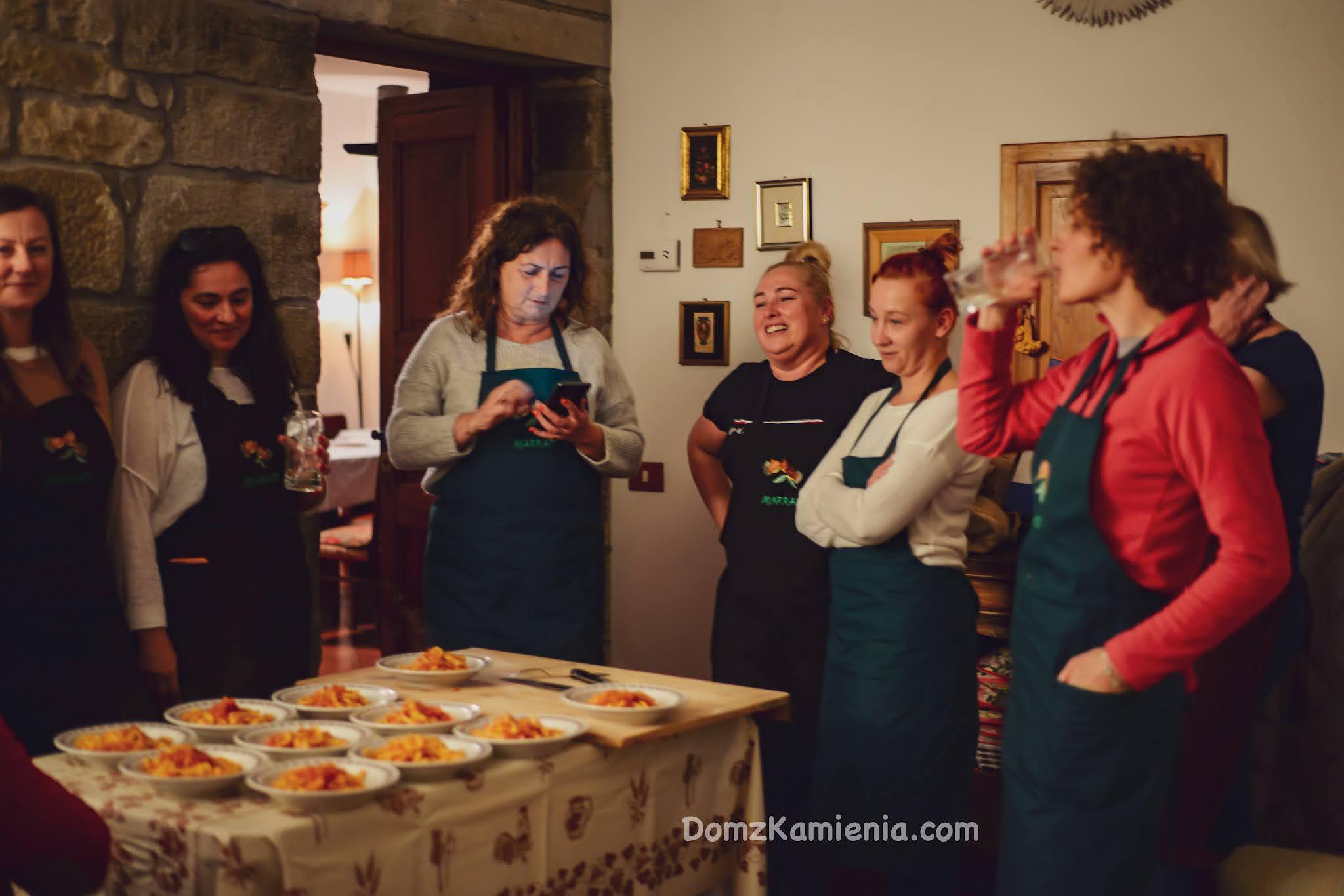 Dom z Kamienia, warsztaty kulinarne w Toskanii