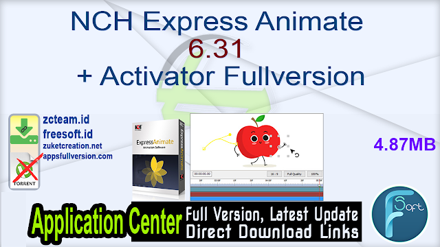 NCH Express Animate 6.31 + Activator Fullversion