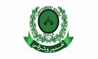 Cantt Public Educational Institutions Taxila Cantonment Board Jobs 2021 in Pakistan
