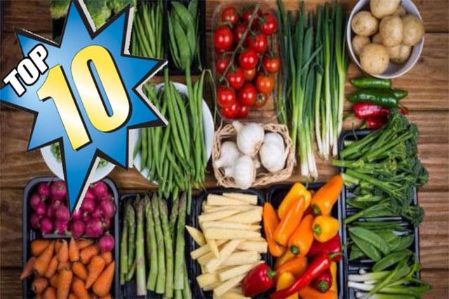 أفضل الخضروات لقائمة طعام صحي