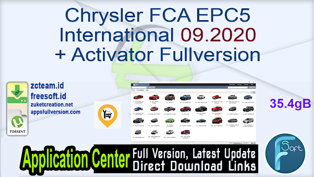 Chrysler FCA EPC5 International 09.2020 + Activator Fullversion