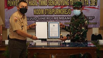 TMMD Sengkuyung III di Kajering Pituruh Ditutup