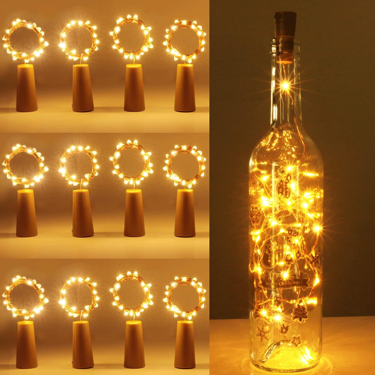 Halloween garden bottle light decoration-uptodatedaily