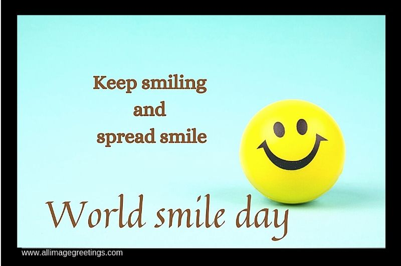 world smile day quotes
