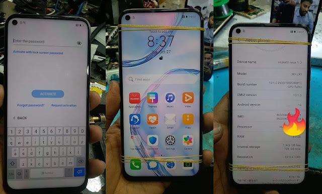 Huawei JNY-LX1 Nova 7i & P40 lite Huawei iD Remove Fix Solution