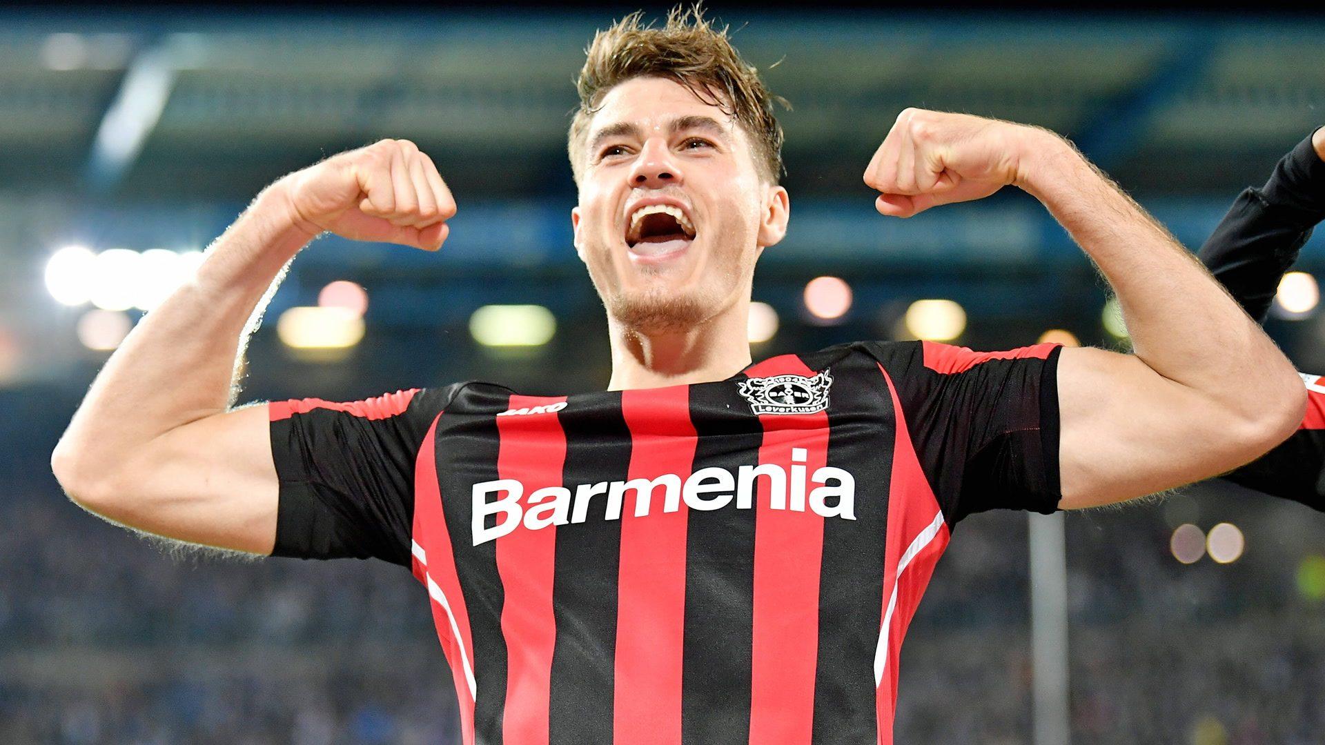 Bayer Leverkusen striker Patrik Schick