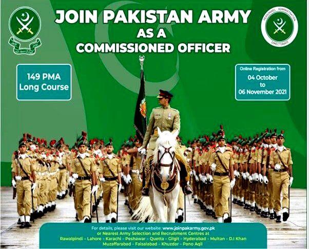 PMA Long Course 149 - Join Pakistan Army -Pakistan Army Latest Jobs 2021
