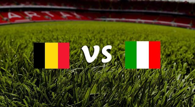 نتيجة مباراة ايطاليا وبلجيكا اليوم 10-10-2021 في دوري الأمم الأوروبية
