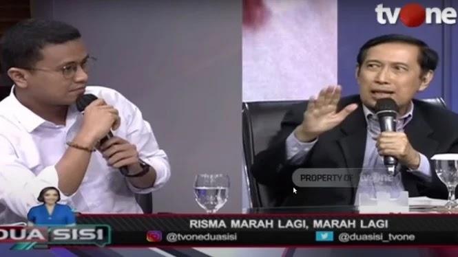 PANAS! Faldo Maldini vs Musni Umar soal Aksi Risma Ngamuk-ngamuk Manusiawi