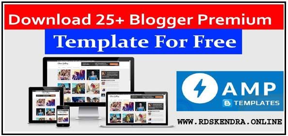 free premium blogger template download