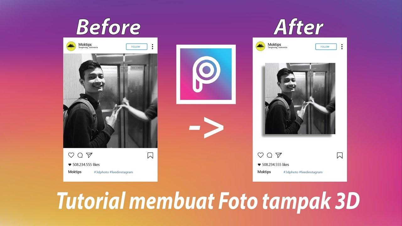 Cara Buat Postingan Gambar Video 3D Instagram