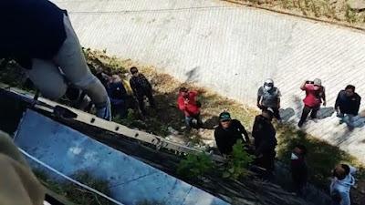 Eksekusi Lahan di Villa PT The Hill berlangsung Dramatis