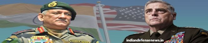 General Bipin Rawat Meets General Mark Milley At The Pentagon, Discuss Ways To Ensure Regional Security