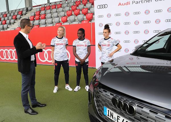 Audi стала партнером женского футбола «Баварии»