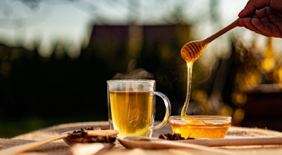 Warm Water With Honey