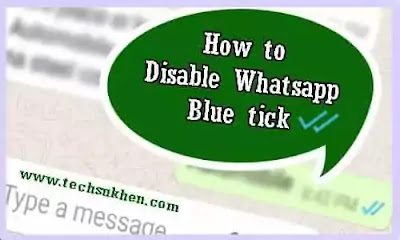 How to disable blue tick on whatsapp in 5 Simple Steps