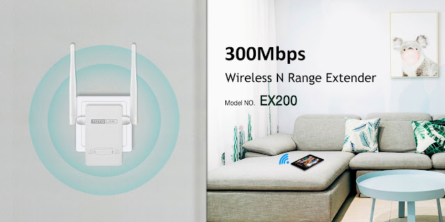 Mercusys MW300RE 300Mbps