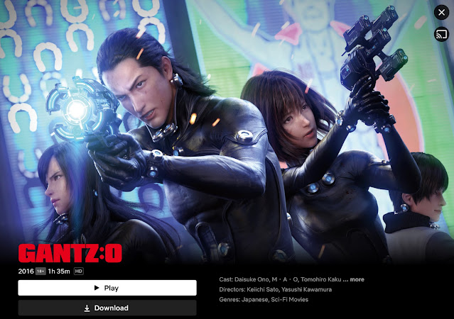 Japanese Sci-fi anime movie