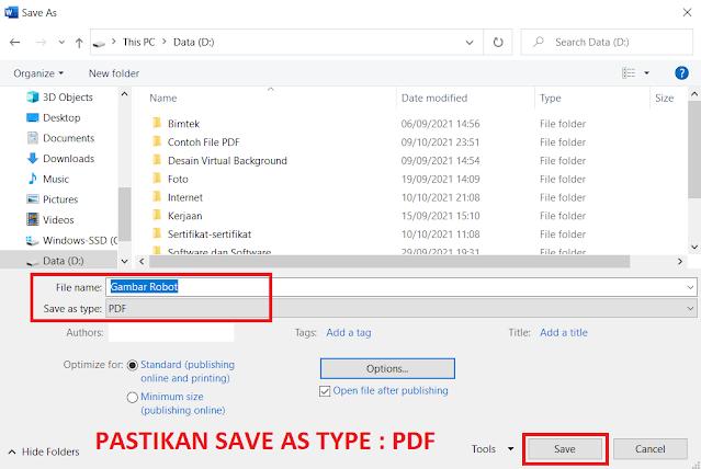 Cara Mengubah Gambar JPG ke PDF (Convert JPG to PDF) Secara Online dan Offline