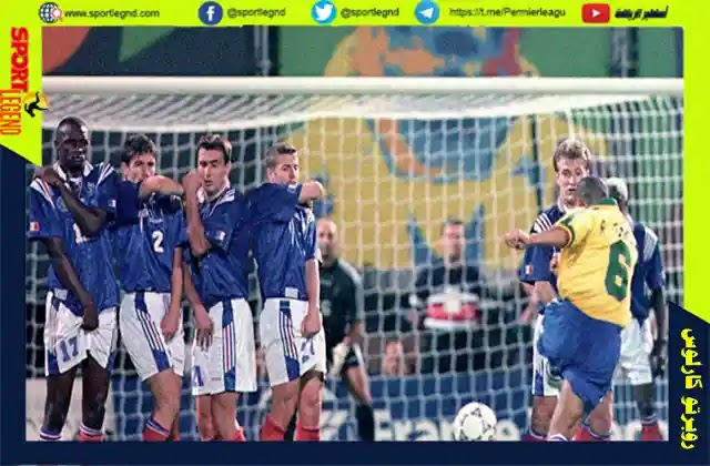 روبرتو كارلوس,هدفا تاريخيا امام فرنسا