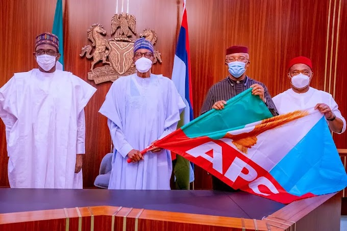 Official: Anambra Deputy Governor Joins APC   CABLE REPORTERS