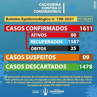 Imagem: divulgação / Prefeitura de Cachoeira Bahia