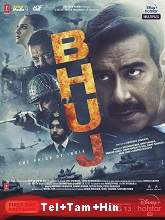 Bhuj: The Pride of India (2021) HDRip Original [Telugu + Tamil + Hindi] Full Movie Watch Online