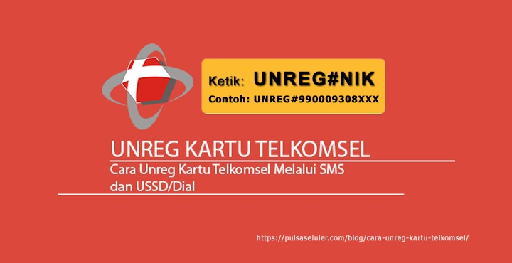 Begini Cara Unreg Kartu Telkomsel