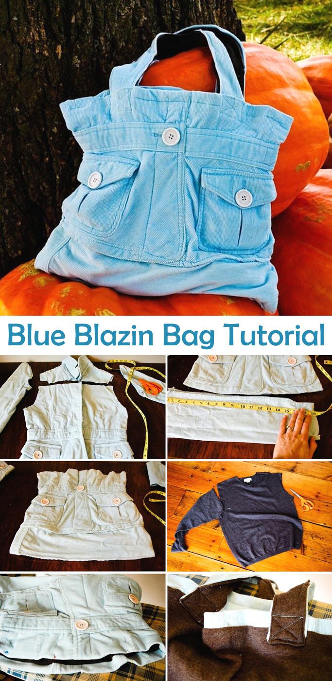 Blue Blazin Bag Tutorial