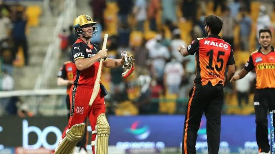 IPL: Sunrisers beat RCB by four runs, AB de Villiers could not hit a six on the last ball