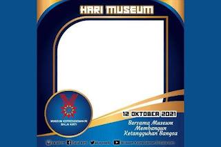 Twibbon 12 Oktober 2021 Hari Museum Nasional