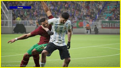 لعبة إي فوتبول eFootball تثير سخرية المستخدمين !
