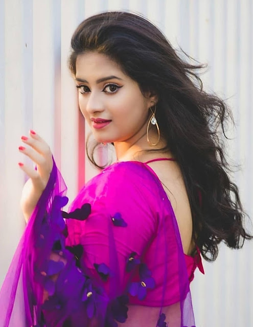 Bollywood Model Priyanka Latest Photos in Saree Navel Queens