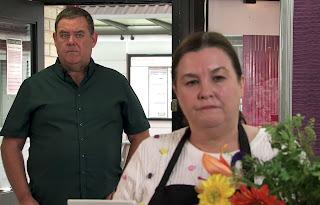 Tony Maudsley & his on-screen wife acting