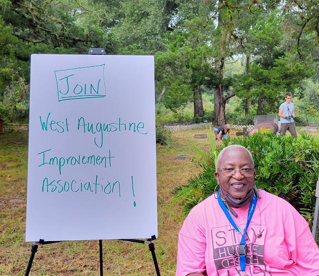 Ramona Fisher West Augustine Improvement Association
