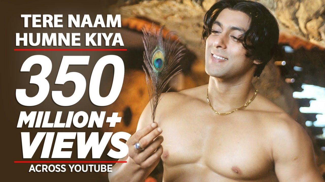 तेरे नाम Tere Naam Humne Kiya Hai Lyrics in Hindi & English - Tere Naam