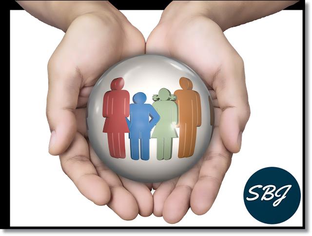 tangan dan orang lambang asuransi jiwa