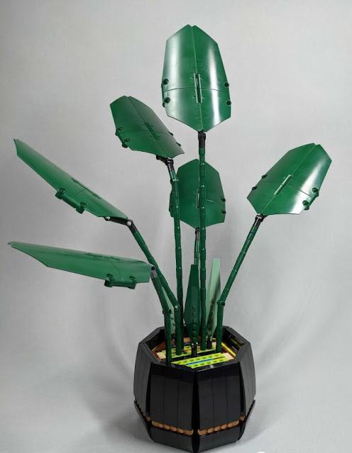 nifeliz flower bouquet phalaenopsis compatible with lego flower