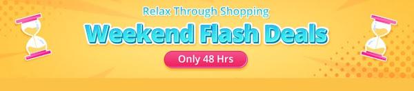 Weekend Flash Deals - Não podes perder esta promoção da Bangood