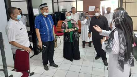Komisi I DPRD Sawahlunto Kunjungan Kerja ke Dinas Dukcapil